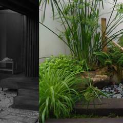Jardin Zen en un pequeño espacio: Jardines japoneses de estilo  de Jardines Japoneses -- Estudio de Paisajismo