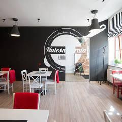 Realizacja NALEŚNIKARNIA KAMIENICA w Zabrzu: styl , w kategorii Gastronomia zaprojektowany przez Archi group Adam Kuropatwa