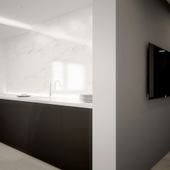 Kuchnia w domu jednorodzinnym w Tarnowskich Górach: styl , w kategorii Kuchnia na wymiar zaprojektowany przez Archi group Adam Kuropatwa