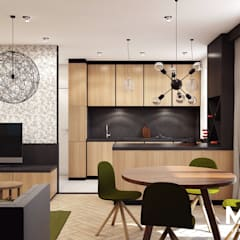 Kitchen units by MACZ Architektura - Architekt wnętrz Kraków