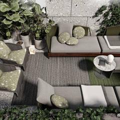 Two-level apartment in Paris │ Part 2: Tерраса в . Автор – Diff.Studio