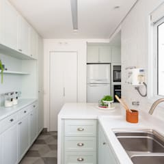 مطبخ تنفيذ Duplex212 - Arquitetura e Interiores