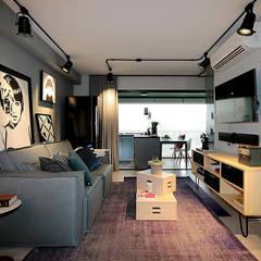 Sala de Estar: Salas de estar  por Duplex212 - Arquitetura e Interiores