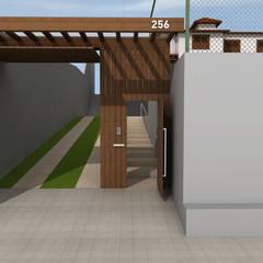 REFORMA CASA R: Casas familiares  por Mutabile