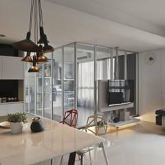 質樸中透出內斂的時尚:  餐廳 by 禾光室內裝修設計 ─ Her Guang Design