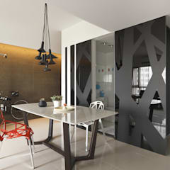 Dining room by 禾光室內裝修設計 ─ Her Guang Design,