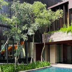 Garden Pool by Jati and Teak