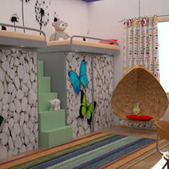 Residential Interior Projects:  Nursery/kid's room by deZinebox
