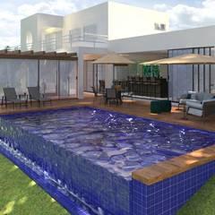 Daniela Ponsoni Arquitetura:  tarz Sonsuzluk havuzu