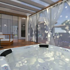 Steam Bath by Daniela Ponsoni Arquitetura, Modern