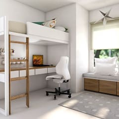 Nursery/kid's room by Bhavana,