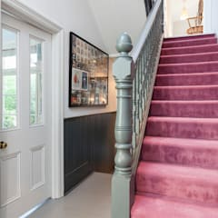 Dulwich Family home:  Corridor & hallway by Imperfect Interiors, Classic