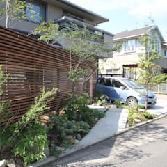dabith(外構計画): ポーラスターデザイン一級建築士事務所が手掛けた庭です。