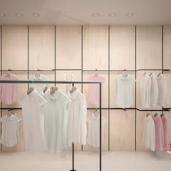 Sklep odzieżowy: styl , w kategorii Powierzchnie handlowe zaprojektowany przez Archi group Adam Kuropatwa