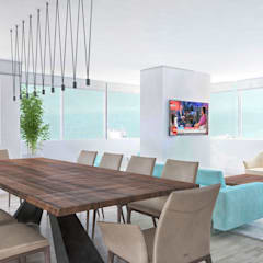 PROJETOS: Harmonia: Salas de estar  por MY STUDIO HOME - Design de Interiores