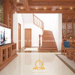 Escadas  por Nội thất Long Thành
