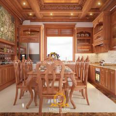 Muebles de cocinas de estilo  por Nội thất Long Thành