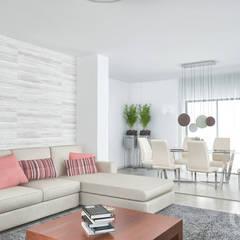 غرفة المعيشة تنفيذ MY STUDIO HOME - Design de Interiores