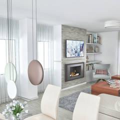 Ruang Keluarga oleh MY STUDIO HOME - Design de Interiores, Klasik