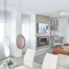 PROJETOS: Sala: Salas de estar  por MY STUDIO HOME - Design de Interiores,Clássico