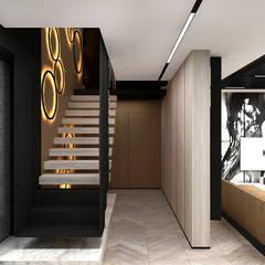 LIKE A DUCK TO WATER | I | Wnętrza domu: styl , w kategorii Schody zaprojektowany przez ARTDESIGN architektura wnętrz