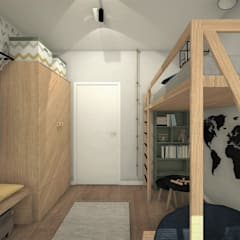 Boys Bedroom by AP interiors