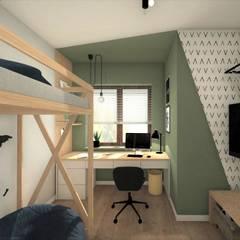 POKÓJ DLA CHŁOPCA 2: styl , w kategorii Pokój dla chłopca zaprojektowany przez AP interiors