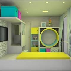 Studio Elabora:  tarz Kız çocuk yatak odası