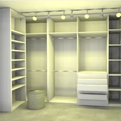 Dressing room by Studio Elabora