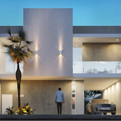 BRUTALISTA: Casas pré-fabricadas  por Arquiteto AISLAN MAILON  (Studio AM7)