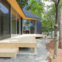acubens: ポーラスターデザイン一級建築士事務所が手掛けた庭です。