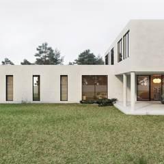 منازل التراس تنفيذ Tobi Architects