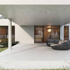 Maisons mitoyennes de style  par Tobi Architects