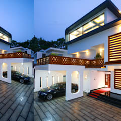 Ultra-Modern Designs:  Houses by Premdas Krishna