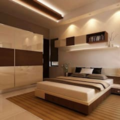 Bedroom by Archivite Architecture,