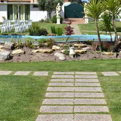 Projekty,  Miejsca na imprezy zaprojektowane przez Jardins e Exteriores - Arthur Pereira - Arqto. Paisagista