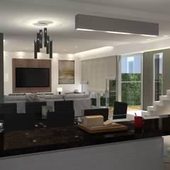 Cocina comedor: Comedores de estilo  por BM3 Arquitectos