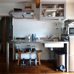Kitchen units by 志田建築設計事務所