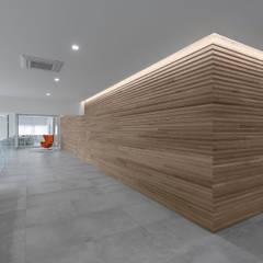 Accademia della Bellezza: Complessi per uffici in stile  di GIAN MARCO CANNAVICCI ARCHITETTO