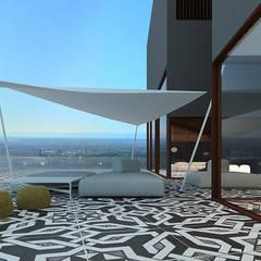 re`PATTERN: styl , w kategorii Taras zaprojektowany przez Anna Maj Interiors
