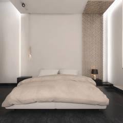 Minimalist design apartment: minimalistic Bedroom by dal design office