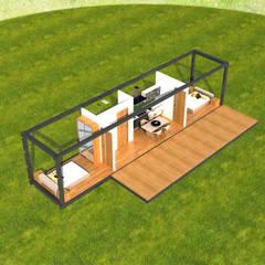 Next Container – Next Container - Mini Lorem:  tarz Prefabrik ev