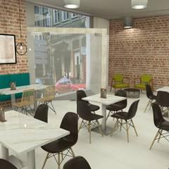 Cafetaria, 2017 - Porto: Espaços de restauração  por Ci interior decor