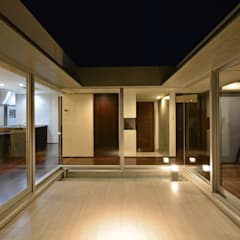 イリバルのコートハウス: 久友設計株式会社が手掛けたフローリングです。