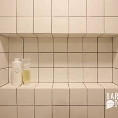용인 수지구 동천동 수진마을 26평 인테리어: 바라봄디자인의  욕실