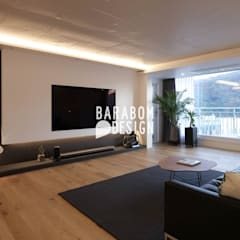 서초동 한신 49평 인테리어: 바라봄디자인의  거실