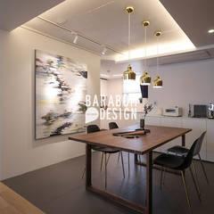 서초동 한신 49평 인테리어: 바라봄디자인의  다이닝 룸
