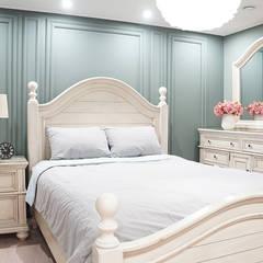 Bedroom by 리인홈인테리어디자인스튜디오