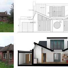 Stoneleigh KT17 | Extension and alterations to a bungalow:  Floors by GOAStudio | London residential architecture