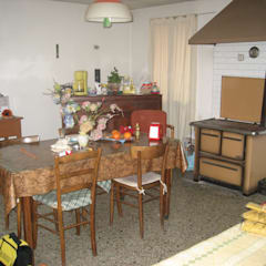Sala da pranzo: Sala da pranzo in stile  di studio arch sara baggio